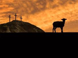 crosses and lamb