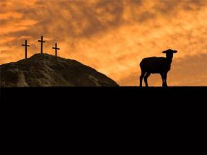 crosses and lamb