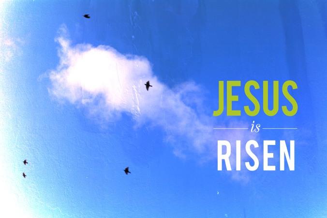 Christ has risem