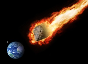 asteroid & earth