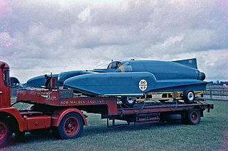 Bluebird_K7_in_1960_at_Goodwood