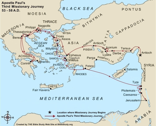 paul-third-missionary-journey-map